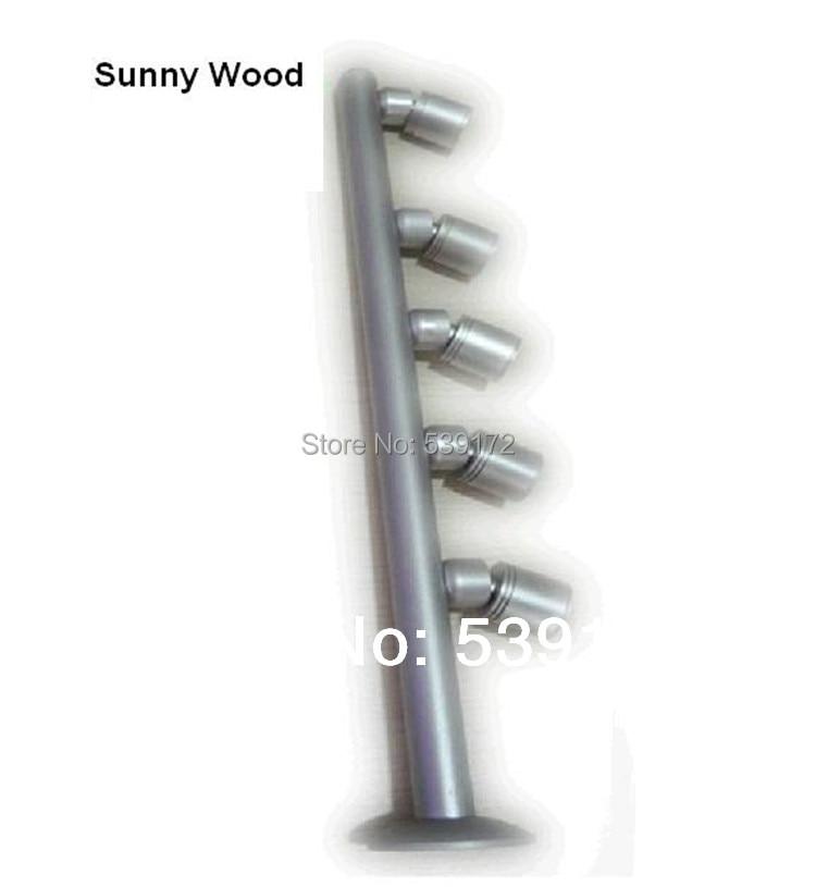 led spotlights Free shipping cabinet light 3 years warranty 5W led cabinet spot lamp,jewelry lamp, 5 head BL-C08