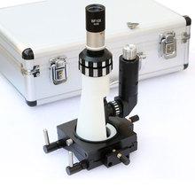 Polarizing Light Microscope Handheld Diagnost Equipment Portable Metallographic Microscope with Magnetic Base Polarizer