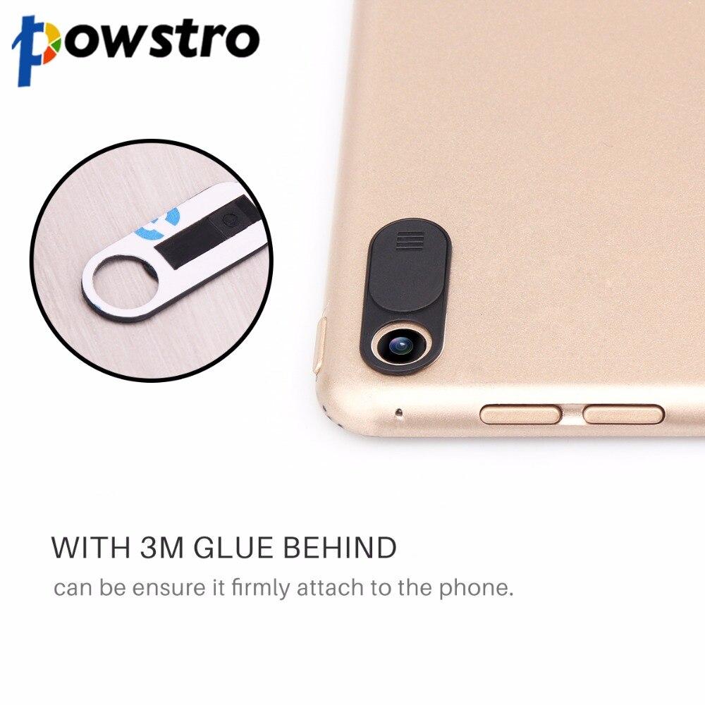 """Powstro веб-камера Камера щит защитника чехол ультра тонкий 0.04 """"hot webcam крышка веб-крышкой слайдер для компьютера телефона планшеты"""