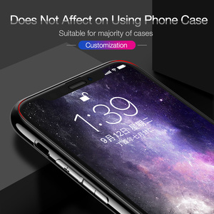 Image 2 - CAFELE מסך מגן עבור iPhone Xs Max Xr 4D מזג זכוכית מלא כיסוי HD ברור מגן זכוכית עבור Apple iPhone 5.8 6.1 6.5