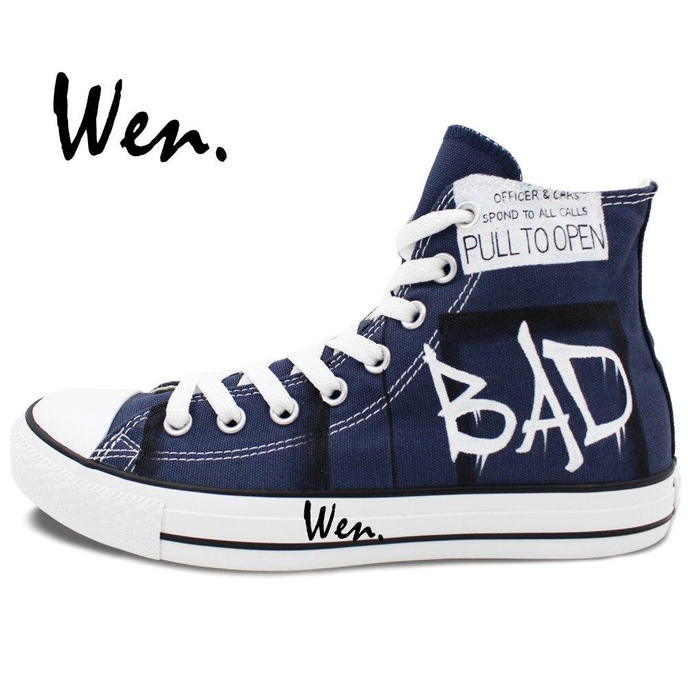 Wen Ručno oslikane cipele za dizajne Dizajn prilagođene liječnika - Tenisice - Foto 3