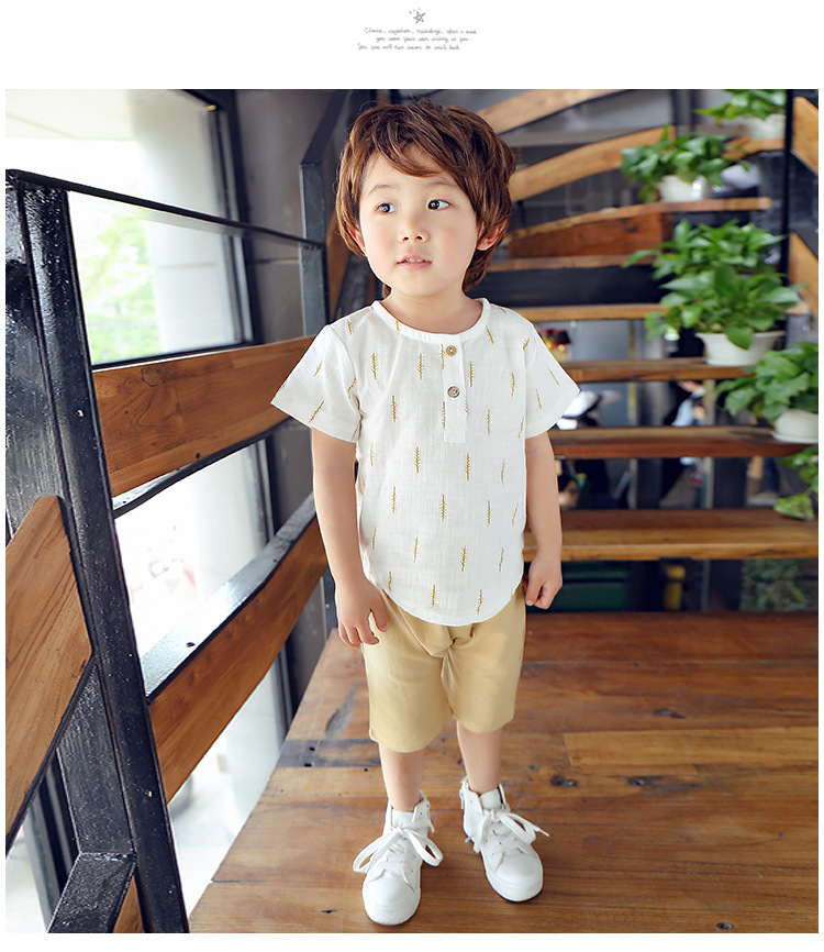 2019 New Kids Clothes Spring Boys Clothing Sets T Shirt + Shorts Toddler Boys Clothing Baby Boy Fluid Systems Clothes Brand 31