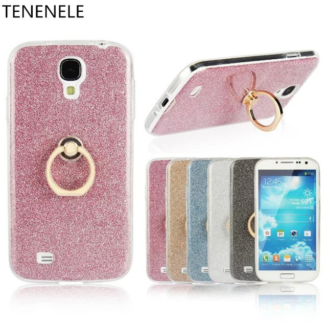 finest selection db0f1 a245d US $4.59 |TENENELE Silicone Soft Case For Samsung Galaxy S4 Colorful TPU  Bling Pink Diamond Stand Coque Fundas Capa For Samsung S4 Cases-in  Rhinestone ...