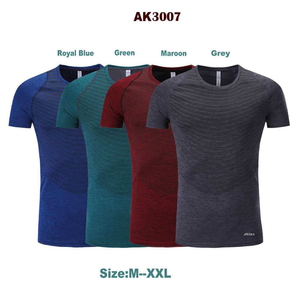 baeb13faf Series Akilex Sportswear Fitness Sport Shirt Men Workout Running Shirt Dry  Fit Bodybuilding Sports Men Tee Tops Running t shirt-in Running T-Shirts  from ...