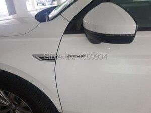 Image 4 - Badge autocollant original pour VW Tiguan mk2 4 mouvements 4x4, ailes latérales de porte, garniture autocollant, 2018, 2019, 2020