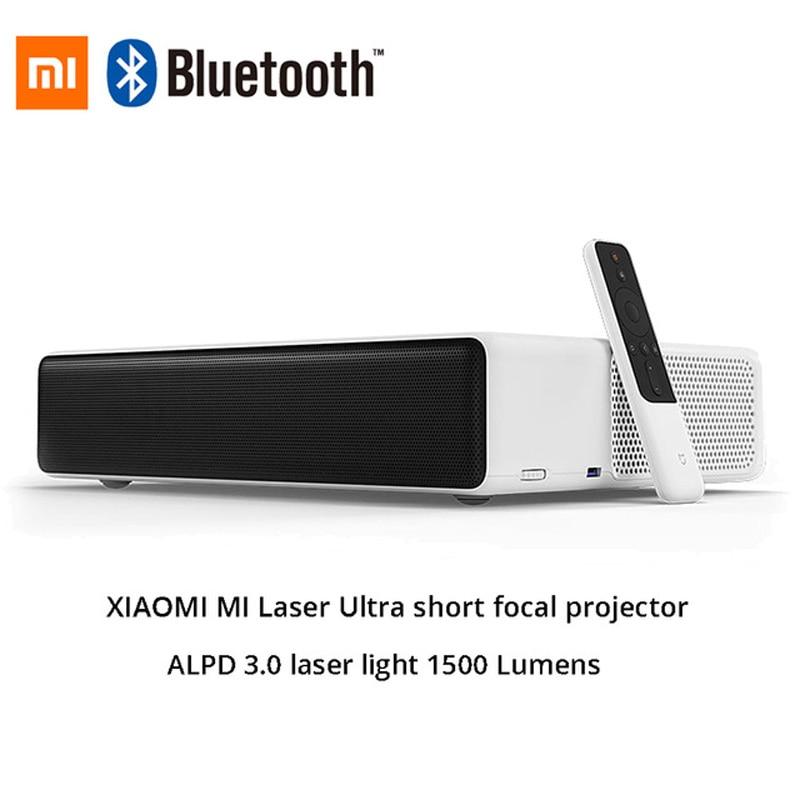 "Gastvrij Originele Mi Mijia Laser Projectie Tv 150 ""inches 1080 Full Hd 4 K Bluetooth 4.0 Wifi 2.4/5 Ghz Ondersteuning Dolby Dts 3d 5000 Lumen"