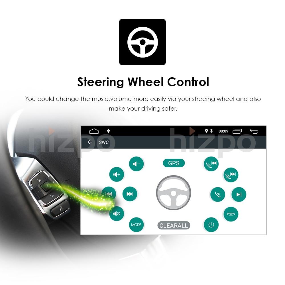 Quad Core Pure Android 8.1 Car Multimedia Player Car PC Tablet Double - Ավտոմեքենաների էլեկտրոնիկա - Լուսանկար 5
