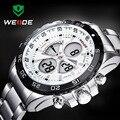 2016 WEIDE Top Fashion Relojes Hombres Marca de Lujo del Cuarzo de Los Hombres hora Analógica Reloj Hombre Militar Del Ejército Del Deporte LED Digital de Muñeca relojes