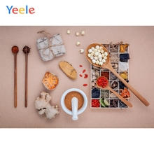Yeele Photocall Foods Spices Ins Style Kitchen Photography Backdrops Personalized Photographic Backgrounds For Photo Studio