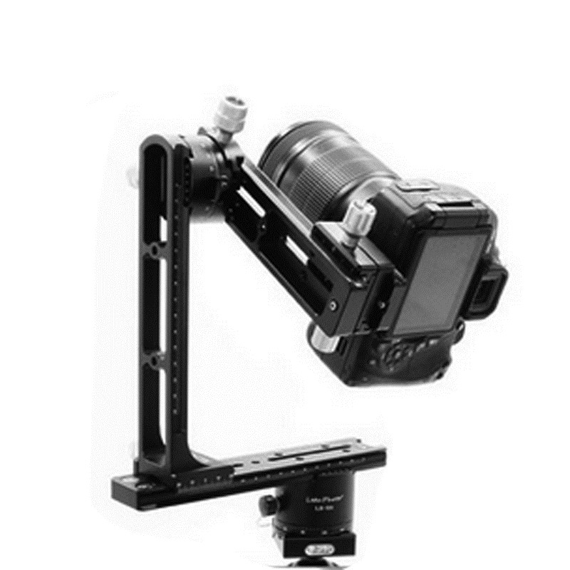 720PR-2 3D Panoramic Tripod Head Kit Lengthed QR Plate Long Nodal Slide Rail 10 Shifts For Blind shoot Clamp Extender magic shifts