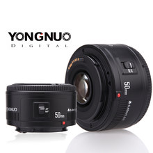 YONGNUO YN EF 50mm f/1.8 AF Lens Standard Prime Lens Aperture Auto Focus for Canon EOS DSLR Cameras With Virtual Background(China)