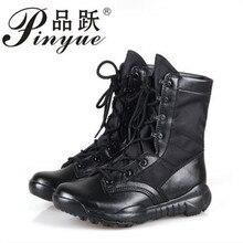 c8b17a5673c Nuevo Ultralight hombres ejército Botas Militar Zapatos combate táctico  Botines para hombres desierto Selva Botas