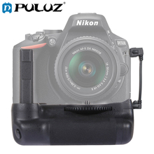 PULUZ Battery Grip For Nikon Vertical Camera Battery Grip For Nikon D5500 Digital SLR Camera Free Gift Camera Strap bc 65 recharger battery for nikon surveying equipment nikon bc 65 battery pack