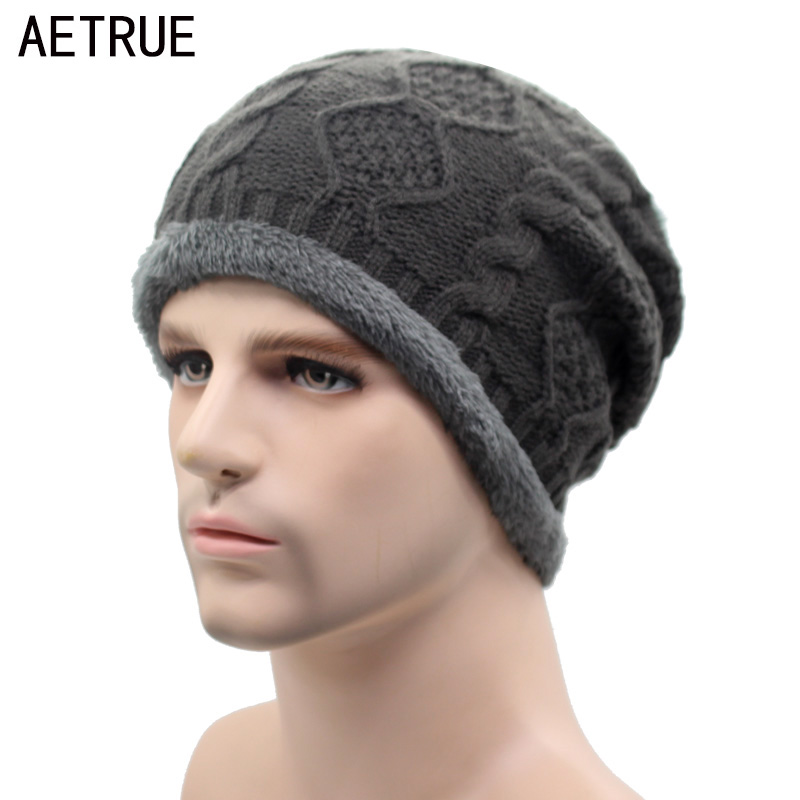 AETRUE Beanies Knitted Hat Winter Hats For Men Women Caps Bonnet Fashion Warm Baggy Soft Brand Cap Skullies Beanie Knit Men Hat 2017 top fashion promotion adult winter caps bonnet femme warm ski knitted crochet baggy beanie hat skullies cap hiphop hats