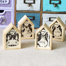 A Music Box Music Box Wooden House of Totoro Music Bell Creative Gift