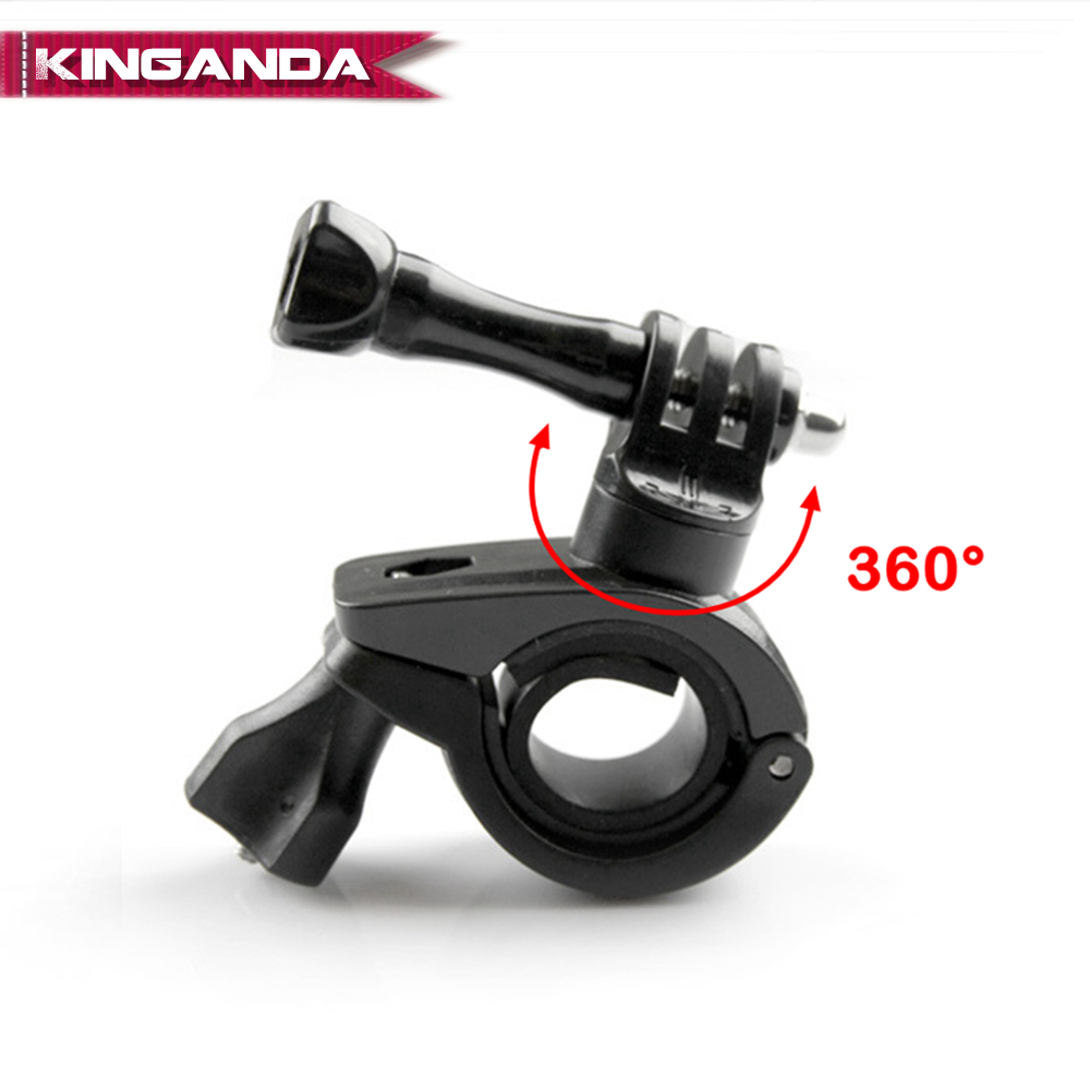 for Gopro Hero Camera Bicycle Mount Bike Motorcycle Bracket Holder for Go Pro Hero 3+ 6 5 4 3 2 Action Cam Stand Frame Clip 2018(China)