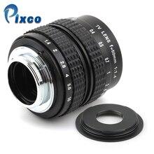 50mm f1.4 C mount objektiv + C-Micro M4 / 3 / NEX / N1 / Pentax Q / Fuji / M M2 adaptér pro fotoaparát S.ony Pentax