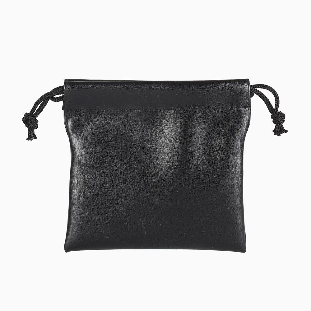 5pcs/Lot 12*11.5 Cm Custom Logo Print Jewelry Packaging Bag Leather Bag Drawstring Bag Wedding Candy Gifts Bag