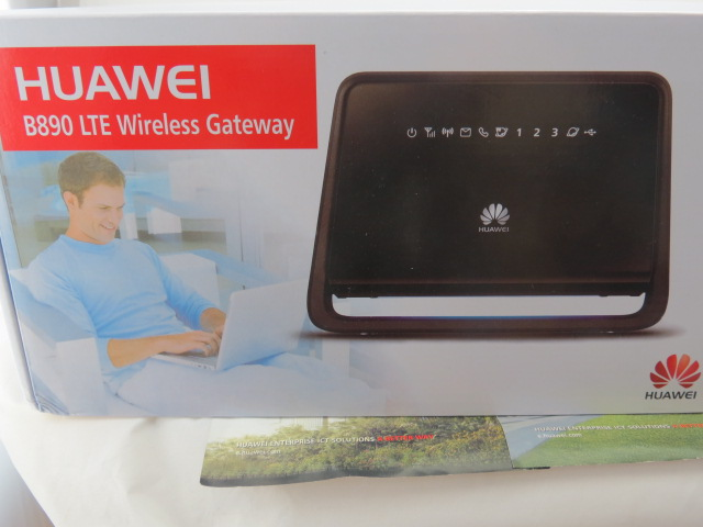 Unlock 100mbps Huawei B890-53 sim card slot 4g Lte Wireless Router