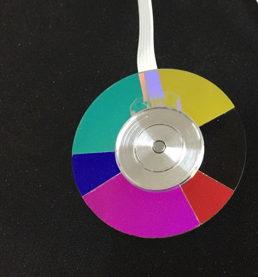 New For ACER D600 D602 D601 D610 D612 D620 D622 DLP Projector Color Wheel projector color wheel for acer x1237 x1110