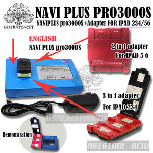 Account 3000-Chip Pro3000s/navi iPad PLUS To 2IN1 for 2-3-4-5/6-bypass/Icloud/Account