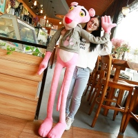 110/130CM Cartoon Doll Pink Panther Plush Toys Stuffed Doll Magic Dolls Children Brinquedos Christmas Birthday Presents For Kids
