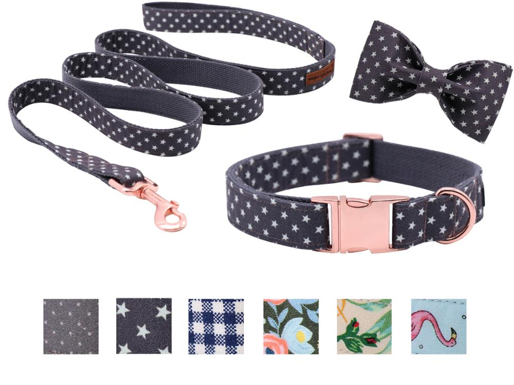 Personalised Small Retractable Dog Lead Polka Dots Designs Gift Idea dogs puppy