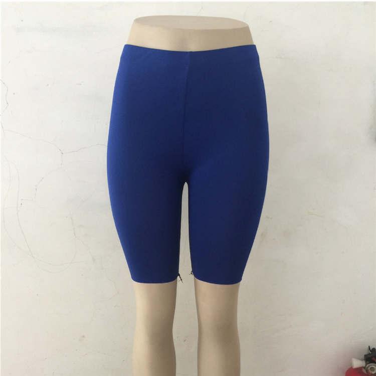 Ариэль Сара c высокой талией, эластичные шорты для йоги спортивные Леггинсы растягивающиеся леггинсы Фитнес спортивные тренажерный зал с йогой - Цвет: BU