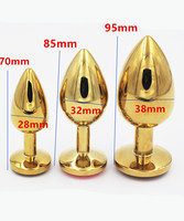 3 PCS Metal Anal Bead Butt Plug Anus Pleasure Stimulator In Adult Games For Couples,Fetish Erotic Sex Toys For Women And Men