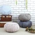 Almofada de linho de algodão almofada tatami almofada do sofá almofada 47 cm lavável yoga chão da sala de casa têxteis decorativos almofada de meditação