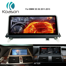 Player Car-Audio Hd-Screen Gps Navigation Video-Media Android Auto Koason for X5x6 E70