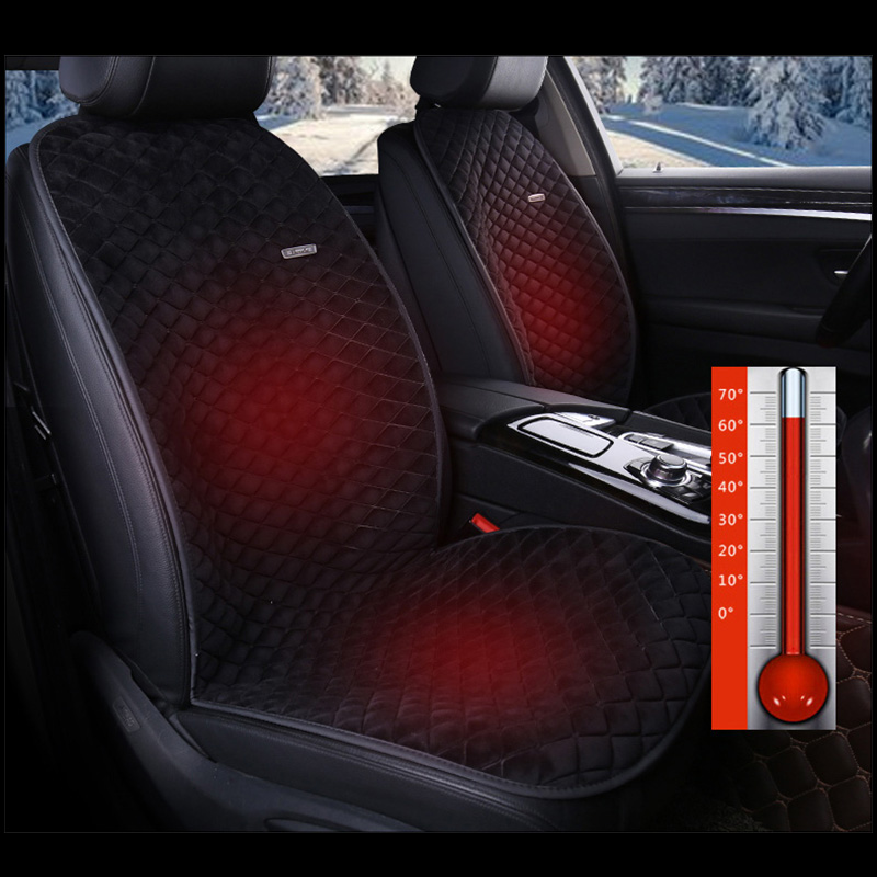 1 PC Winter car heating seat cushion Warm seat cover protective cove for Mercedes-Benz w203 w204 w211 Kia ceed hyundai i30 ix35