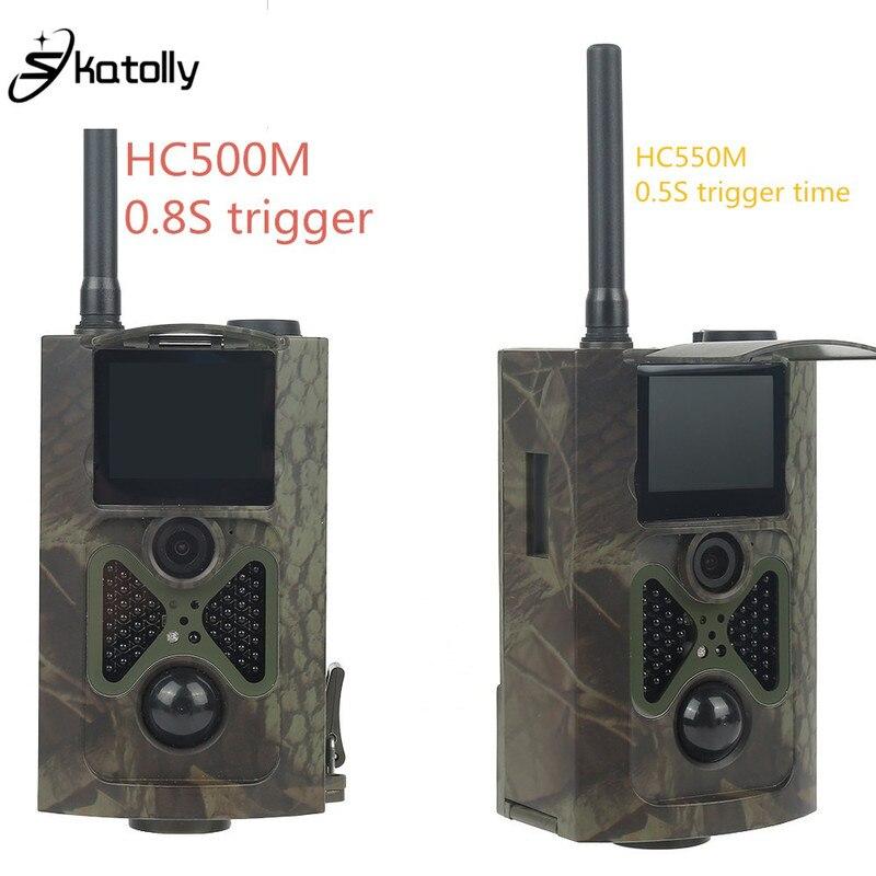 лучшая цена HC550M HC500M 16MP Trail Camera MMS GSM GPRS SMS Trap photo Wild Hunting Camera HC-550M Wildlife Camera For Hunting Foto