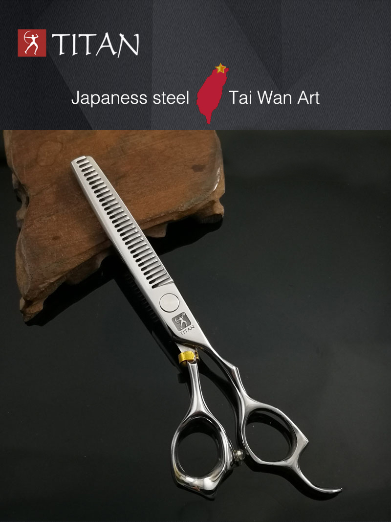 US $22 55 37% OFF|free shipping titan Professional barber tools hair  scissor-in Hair Scissors from Beauty & Health on Aliexpress com | Alibaba  Group