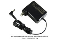 65W Factory Direct Laptop AC Power Adapter Charger For Lenovo IdeaPad G530 G550 G555 G560 Y450