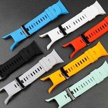 Accesorios de reloj para Suunto Spartan Trainer, pulsera HR, cool series de carrera, Correa impermeable deportiva de silicona para hombres y mujeres