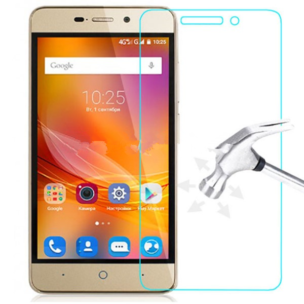 0.3mm tempered glass For <font><b>ZTE</b></font> <font><b>Blade</b></font> A310 A510 <font><b>A601</b></font> A910 Axon 7 <font><b>screen</b></font> protector protective front case cover +clean kits image
