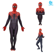 3D printing MCU SUPERIOR Spiderman Cosplay Costume Zentai Spider Man Superhero Bodysuit Suit Jumpsuits  costume