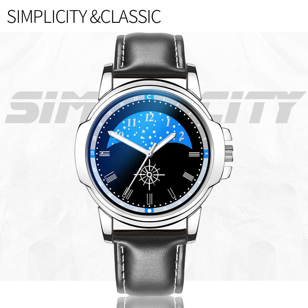 watch men luxury waches men Hot Man  Leather Watch Whatever  Late Anyway Letter Watches New Pointer glow man watch 2019