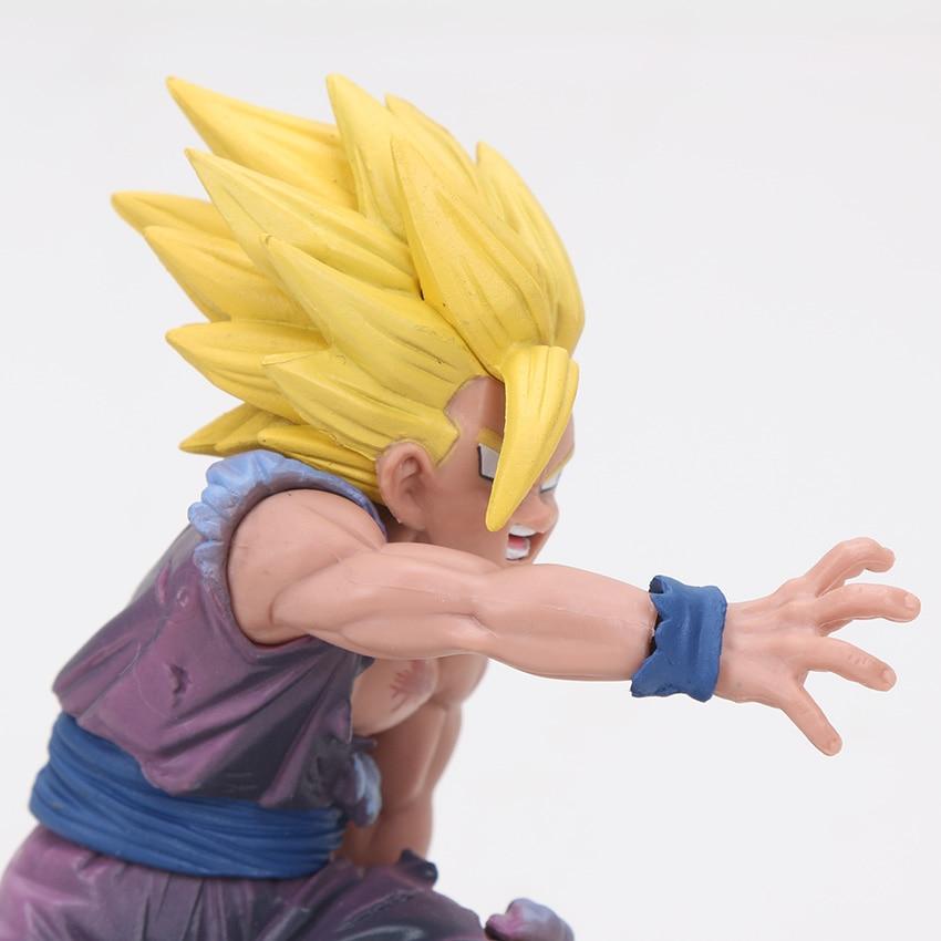 Kid Gohan Action Figure Grabbing