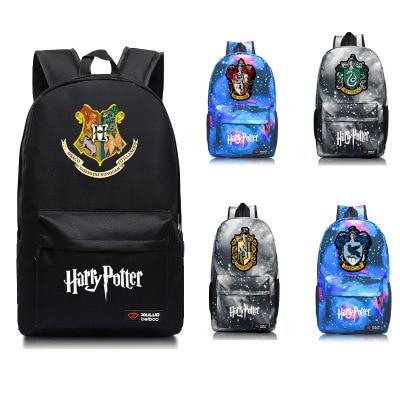 Backpack Travel-Bag School-Bags Potter Harri Gryffindor/hogwarts Canvas Teenager