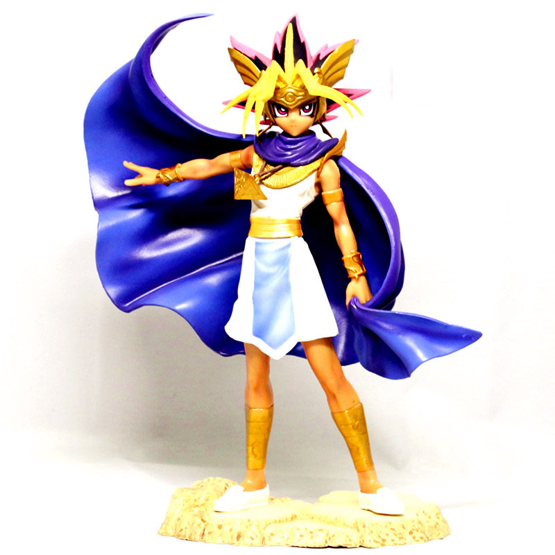 24CM Japanese anime figure Duel Monsters Atem action figure collectible model toys for boys 10cm japanese anim figure naruto q version nendoroid hatake kakashi action figure collectible model toys for boys