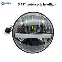 Motorcycle headlight H4 LED 5.75 inch for harley sportster 883 harley davidson Accessories Daymaker 5 3/4 projector headlamps