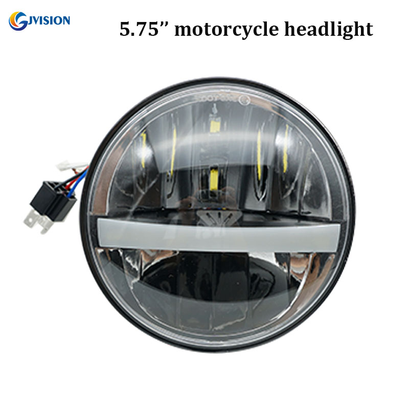 Motorcycle headlight H4 LED 5.75 inch for harley sportster 883 harley davidson Accessories Daymaker 5 3/4 projector headlamps mtsooning timing cover and 1 derby cover for harley davidson xlh 883 sportster 1986 2004 xl 883 sportster custom 1998 2008 883l
