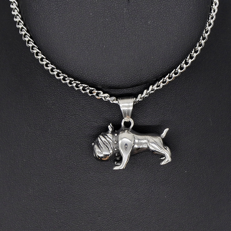 Schnauzer Dog Necklace /& Pendant /& Metal Silver or Rose Gold Tone Giant Standard
