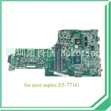 NOKOTION DA0ZYWMB6E0 REV E NBMNV11001 NB. MNV11.001 Für acer aspire E5-771G Motherboard I5-4210U NVIDIA 840 Mt