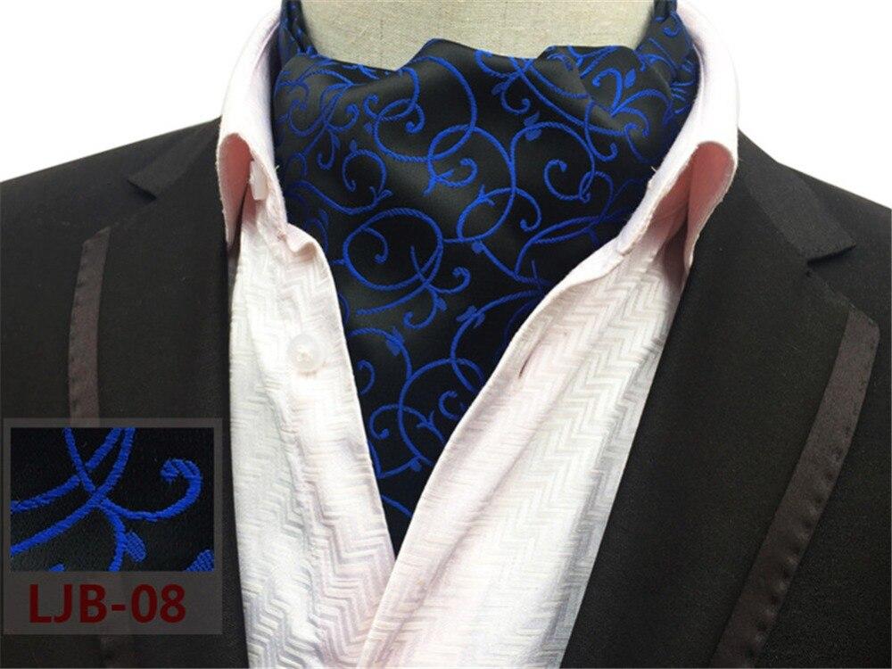 SCST Brand Gravata 2017 New Blue Striped Print Black