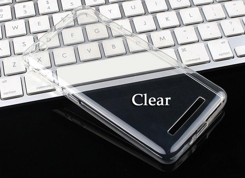 bilder für 50 teile/los Fall RedMi 4A TPU Weichen silikon Rückseite Für Xiaomi Redmi 4A Fall Ultradünne Transparente fall Hongmi 4 Eine Caso Coque
