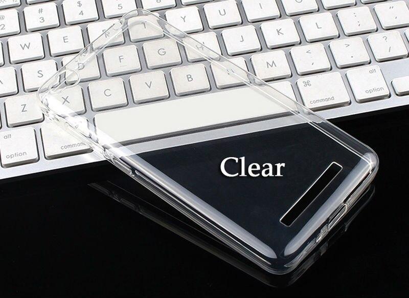 imágenes para 50 unids/lote Caso RedMi 4A TPU de silicona Suave Cubierta Posterior Para Caso Ultrafino Transparente del caso Hongmi Xiaomi Redmi 4A 4 Un Caso Coque