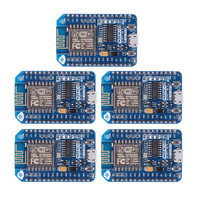 5pcs Wireless Module NodeMcu Lua WIFI Internet Of Things Development Board Based ESP8266 CP2102 With WIFI